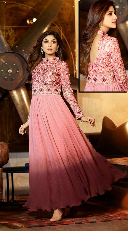 Fashion Designers New Innovation: Gown Style Salwar Kameez ...