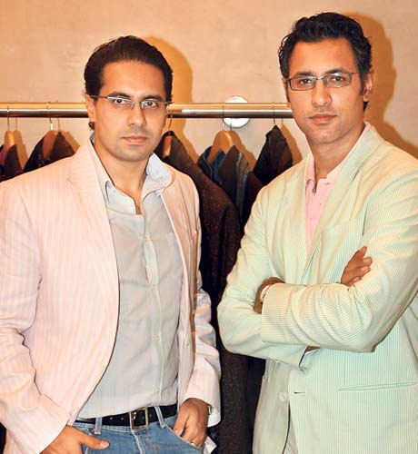Great Indian Fashion Designers Shantanu And Nikhil Indian Fashion Mantra