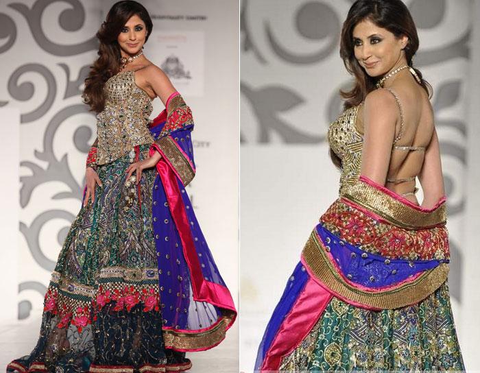 ba4fbec190 Three Latest Designer Lehenga Choli Designs For Girls   Indian ...