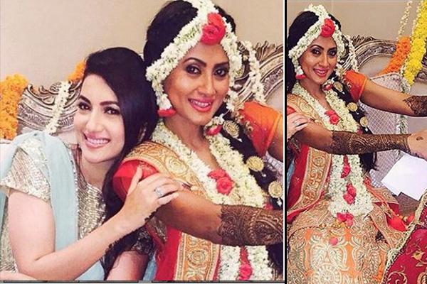 Mehendi Ceremony Look : Nigaar khan wedding highlights indian fashion mantra