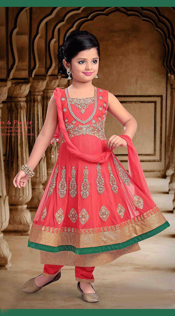 Dress anarkali for kids photo recommend dress in summer in 2019
