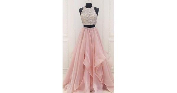 bf46399d7c68e Long Skirt In Handkerchief Style in Georgette WJ007304