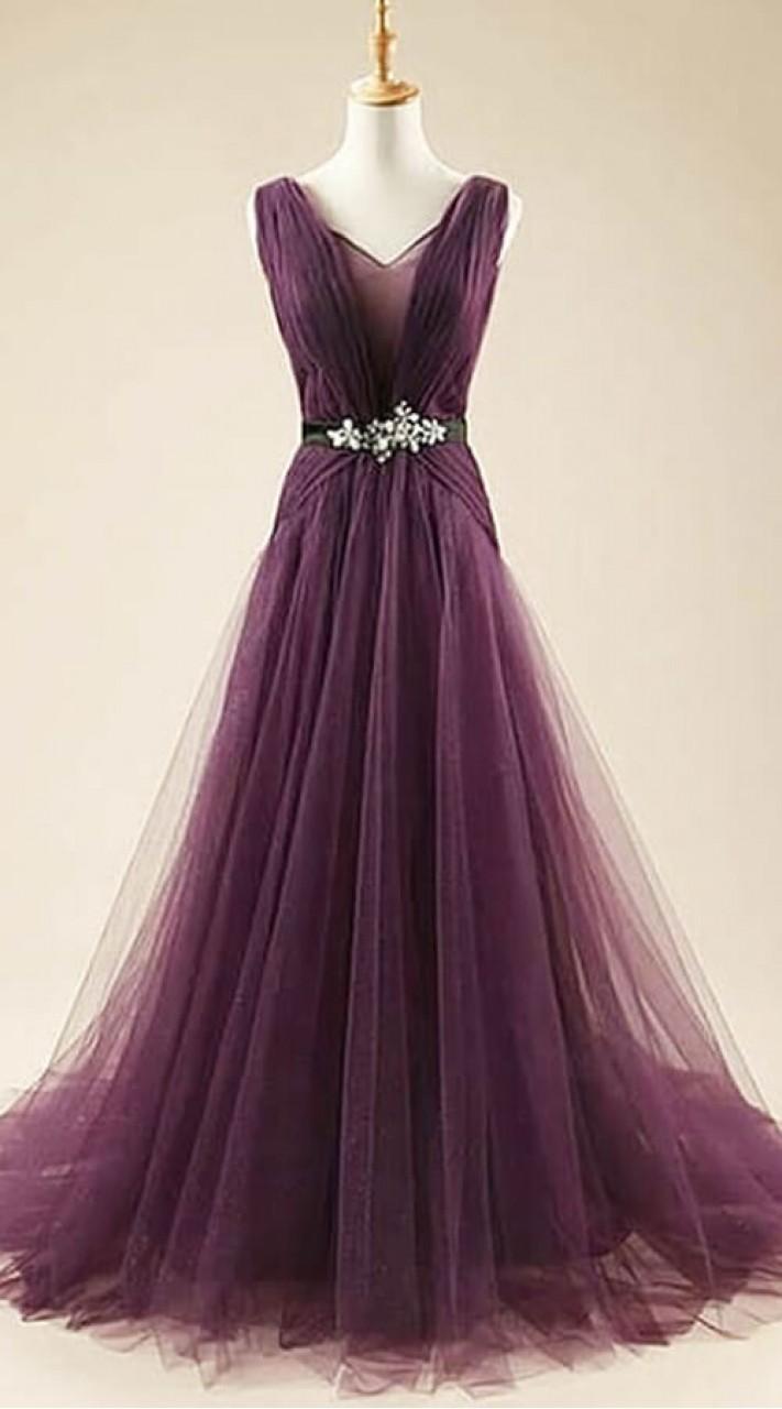 0a2c4920890a Wine Western Style Dress in Net WJ008504
