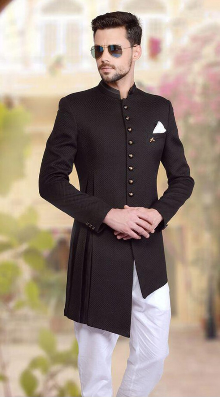 Slikovnica - Page 15 Black-and-white-silk-top-and-bottom-asymmertrical-style-sherwani-for-wedding-wj57518-711x1280
