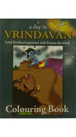 A day in Vrindavan Lord Krishnas pastimes with Putana the witch Colouring Book IBOBK45