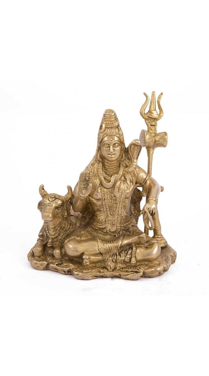 Buy Mighty Lord Shiva Statue with Nandi