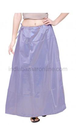 Shimmer Readymade Slate Blue Petticoat