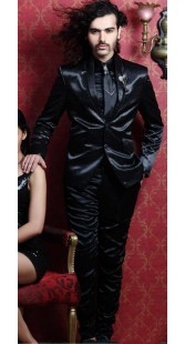 IBDT112213 Black Groom Designer Suit