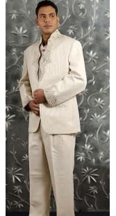 IBDTK0723 Cream Groom Coat Pant