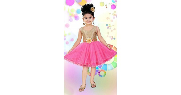 360e780d517f 100% top quality b09fd f1369 kids frock desings with rich mirror ...