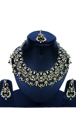 Beautiful Hand Crafted Necklace Set For Party NNP86008