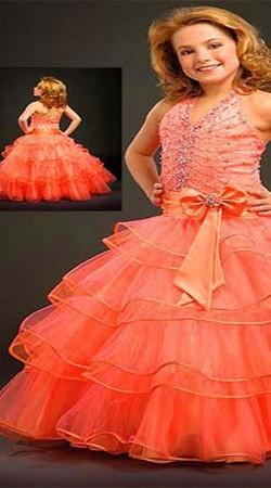 Beautiful Princess Dress For Cute Little Girl BP1153