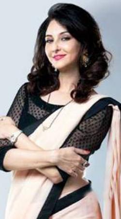 Bhabi Ji Ghar Par Hai Cream Chiffon Anita Style Saree BP0230