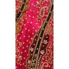 Exceptionally Made Pink Net Bridal Lehenga Choli With Dupatta SD0358