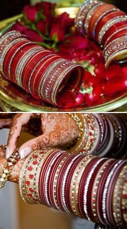 Wedding Bridal Chura Pair (Set of 2 chura) IBO53