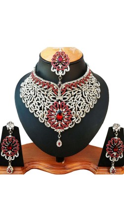 Designer Necklace Set With Stone Work NNP80905