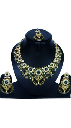 Designer Stone Work Imitation Jewellery For Party NNP86108