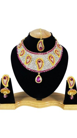 Exceptionally Made Party Wear Necklace Set NNP80705