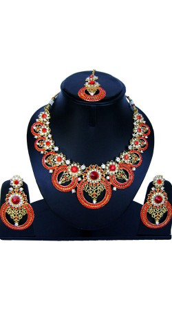 Exclusive Imitation Jewellery With Stone Work NNP86208