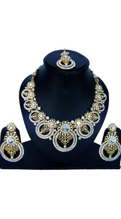 Fashionable Stone Work Imitation Jewellery For Party NNP86608