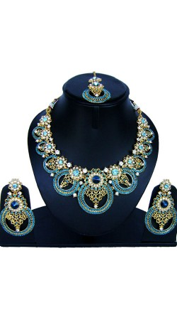 Inestimable Hand Work Necklace Set For Party NNP86808