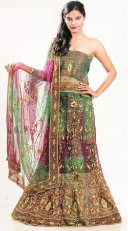 LD2901 Adorable Multicolor Net Lehenga Choli
