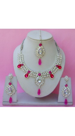 N11795 Necklace Set with Tika Necklace Set with Tika