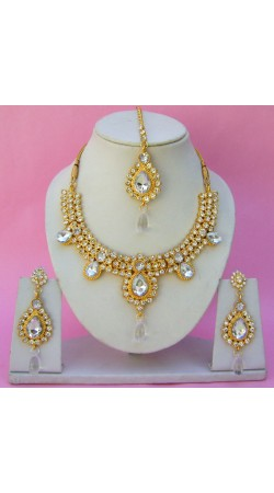 N11895 Necklace Set with Tika Necklace Set with Tika