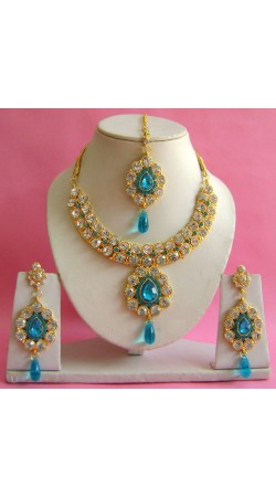 N20395 Necklace Set with Tika Necklace Set with Tika