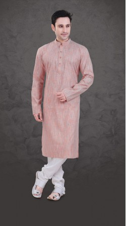 Ostentatious Shaded Cotton Festival Wear Plain Kurta Payjama SI0443