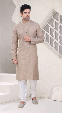 Outstanding Festival Wear Natural Cotton Mens Kurta Pajama SI1542