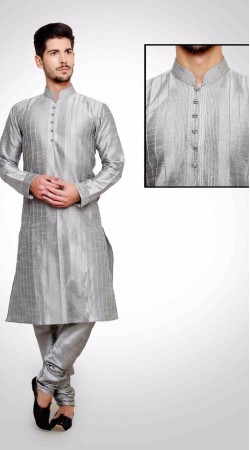 Perfect Silver Art Dupian Silk Men Kurta Payjama DTKP851