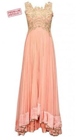 Pink Georgette Designer Anarkali Salwar Kameez BP2434