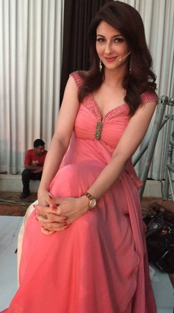 Pink Satin Silk Saumya Tandon Designer Gown BP1730
