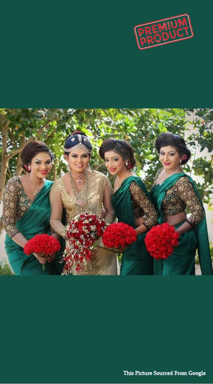 Bridesmaid Sari
