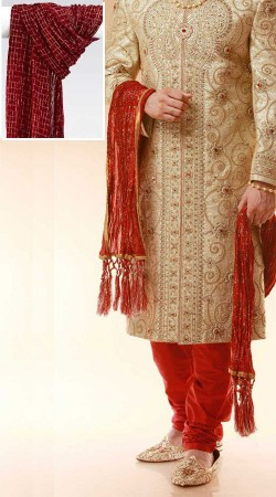 Dupatta for Sherwani
