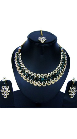Well Proportioned Necklace Set With Tika NNP84907