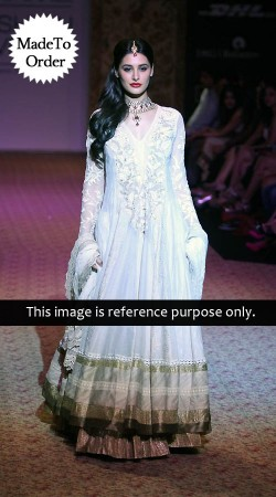 White Nargis Fakhri Replica Bollywood Salwar Kameez 044