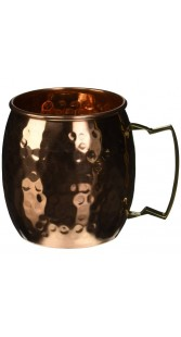 Hand Hammered Moscow Mule Mug Cup 16 Ounce 1 Copper