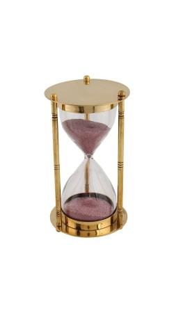 Golden Full Brass Hourglass Sand Timer