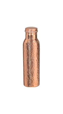 Hammered Copper Stylish Q7 Bottle Joint Free