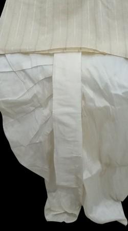 Cream Silk Men Dhoti