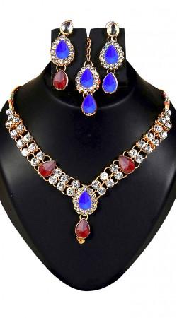 Drop Shape Party Wear Imitation Jewellery