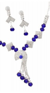 Gorgeous Necklace Set With Earrings