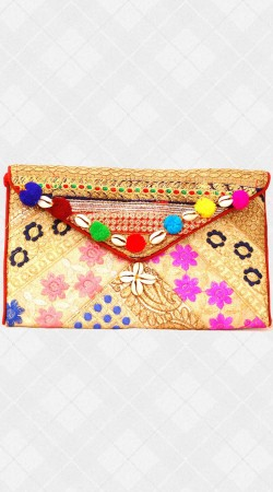 Silng Bag With Embroidery Work IBOBG27