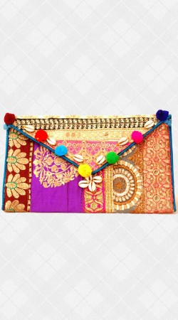 Sling Bag With Embroidery Work IBOBG28