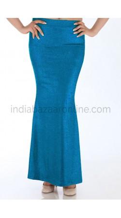 Readymade Blue Fish Cut Style Petticoat