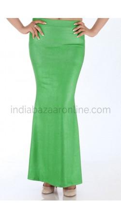 Parrot Green Fish Cut Style Readymade Petticoat