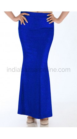 Readymade Royal Blue Lycra Fish Cut Style Petticoat